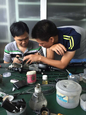Flexible Endoscope Repair Training Program