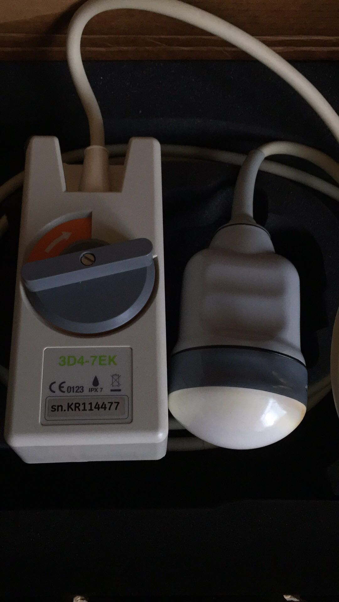 Repair Medison 3D4-7EK ultrasound probe