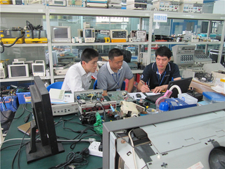Rigid endoscope repair training (Middle)