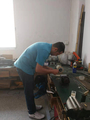 Rigid scope repair training for Brazilian customer